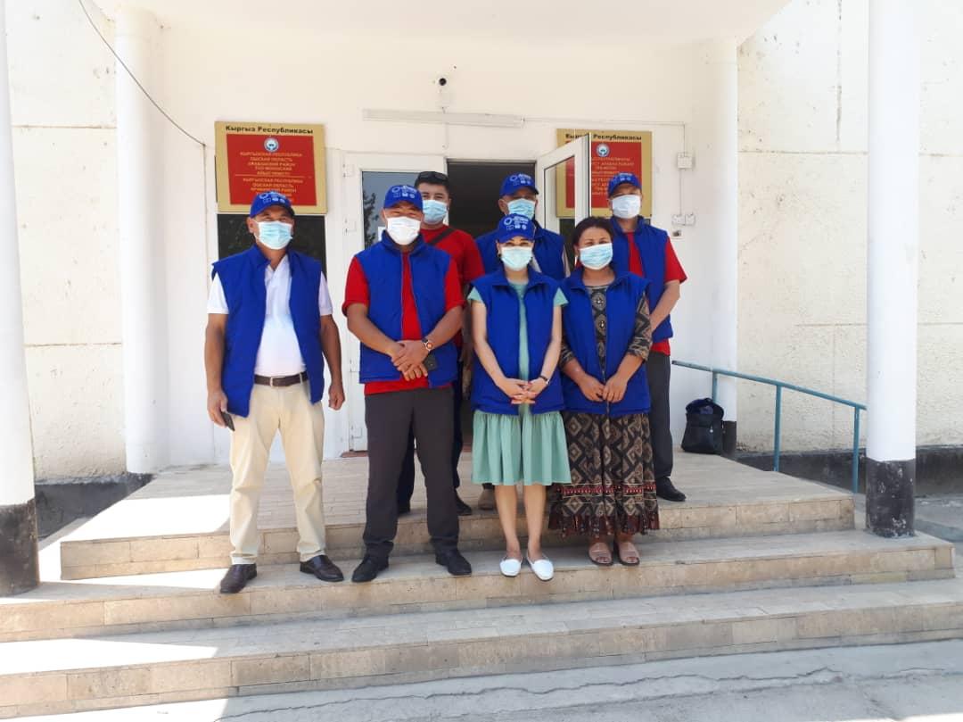 Ош облусунун Араван районунун жашоочуларына 67 акысыз укуктук консультациялар берилди