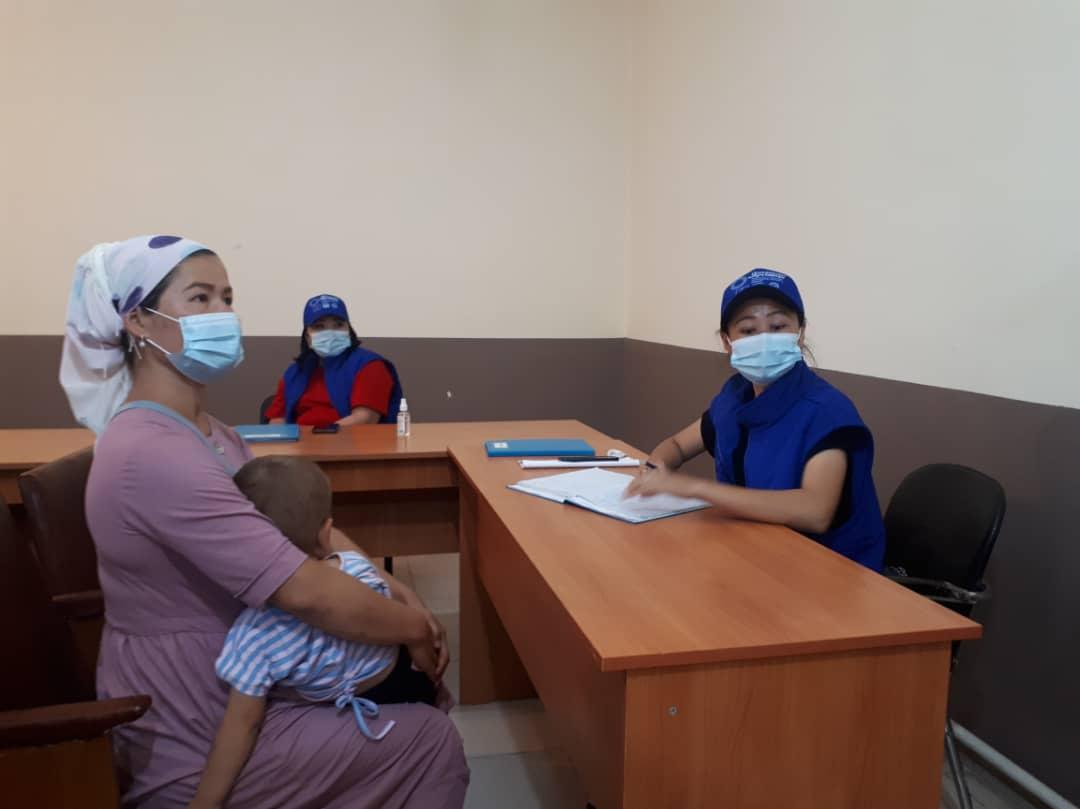 Ош облусунун Араван районунун жашоочуларына 52 акысыз укуктук консультациялар берилди