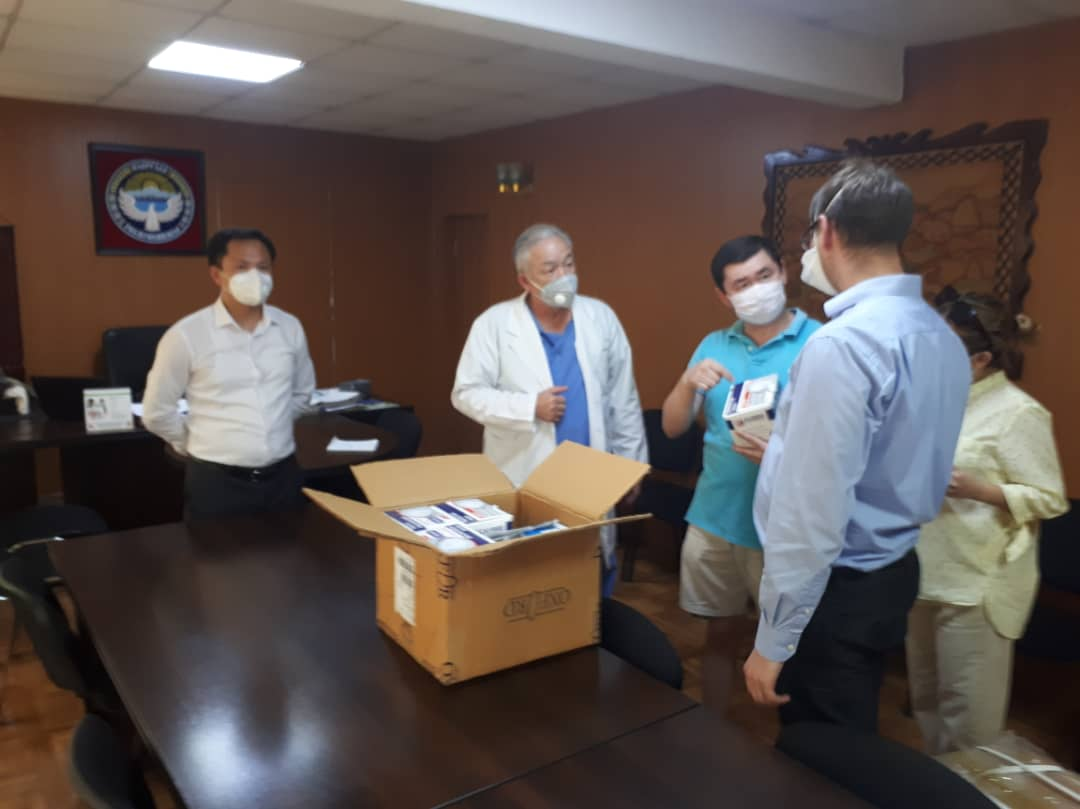 Министерство юстиции КР оказывает посильную помощь Научному центру урологии Национального госпиталя