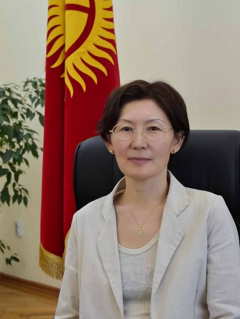 Юстиция министри Асел Чынбаеванын Кыргыз Республикасынын Эгемендүүлүк күнү менен куттуктоосу