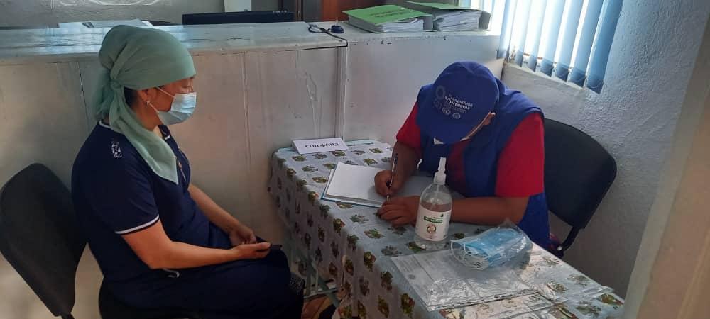 Нарын облусунун Жумгал районунун жашоочуларына 80 акысыз укуктук консультациялар берилди
