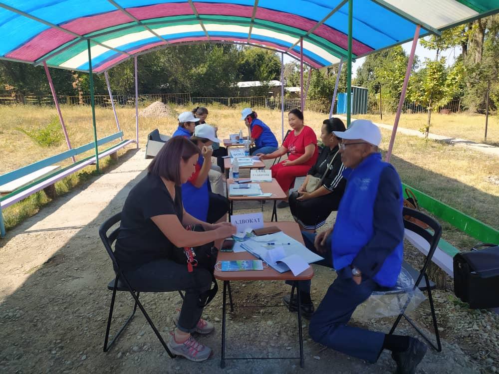 Чүй облусунун Жайыл районунун жашоочуларына 34 акысыз укуктук консультациялар берилди