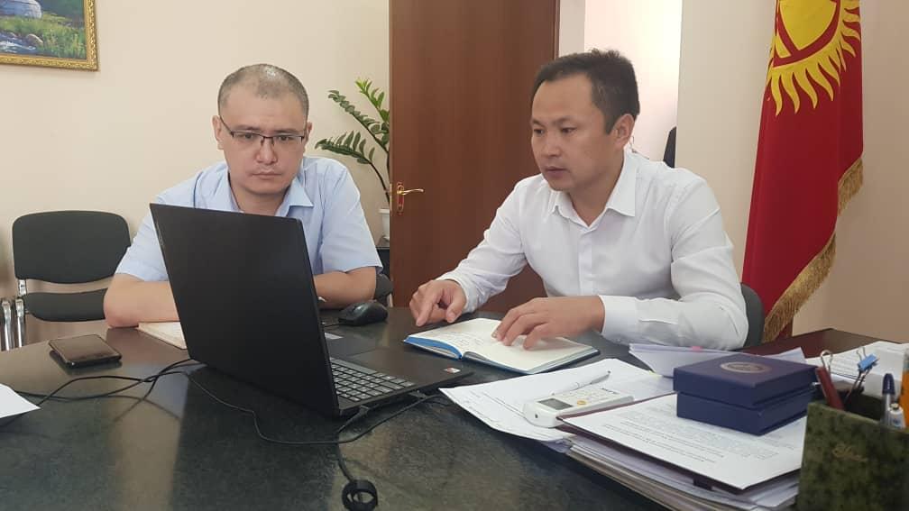 Кыргыз Республикасынын Юстиция министрлиги аймактык жана ведомстволук бөлүнүштөр менен кеңешмелерди өткөрүүнүн жаңы форматына өттү