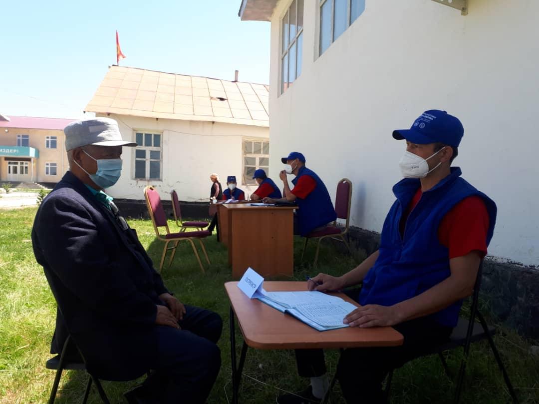 Ош облусунун Кара-Кулджа районунун жашоочуларына 62 акысыз укуктук консультациялар берилди