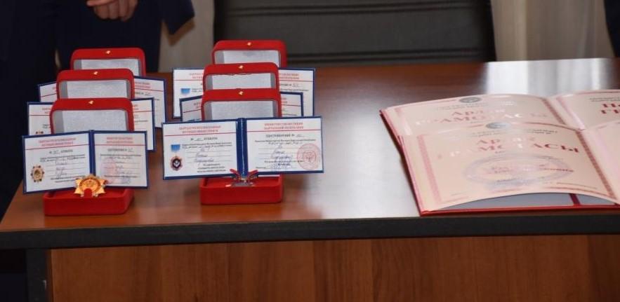 Состоялась церемония вручения ведомственными наградами Министерства юстиции Кыргызской Республики