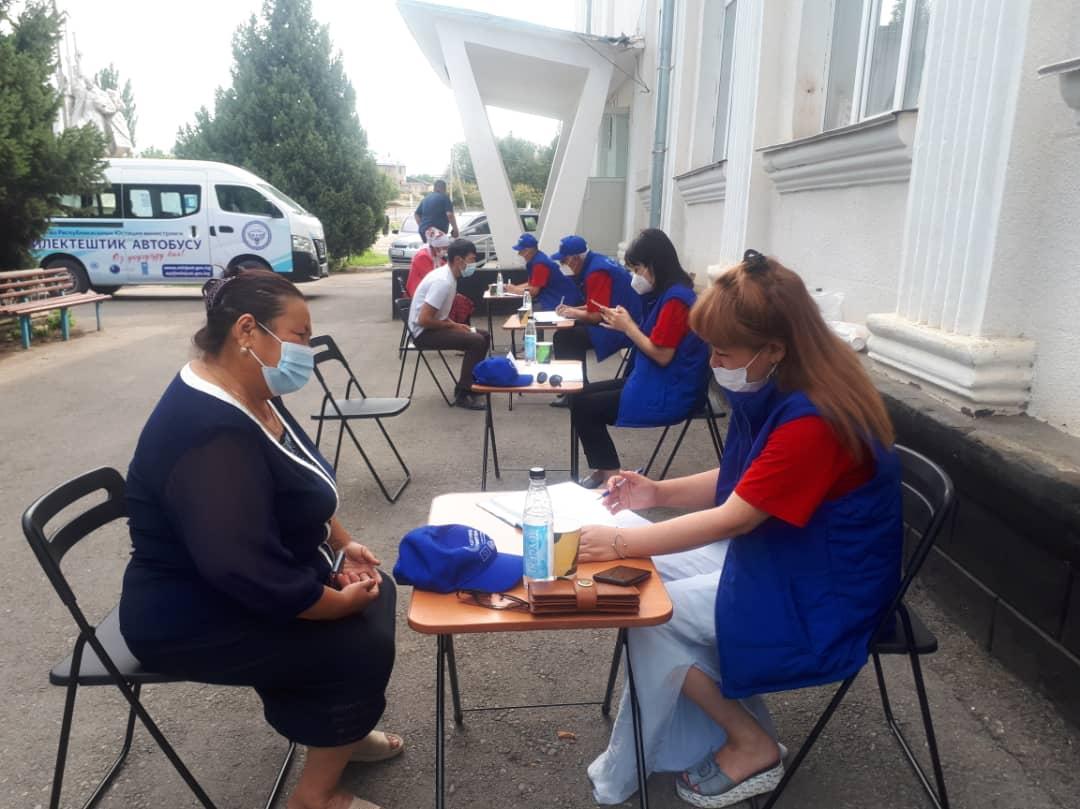 Кара-Суу районунун 148 жараны укуктук жардам алышты