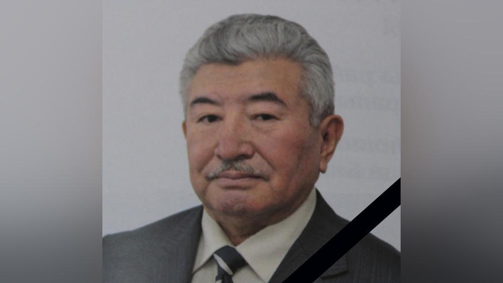 Некролог о заслуженном юристе Кыргызской Республики Акылбеке Маткеримове