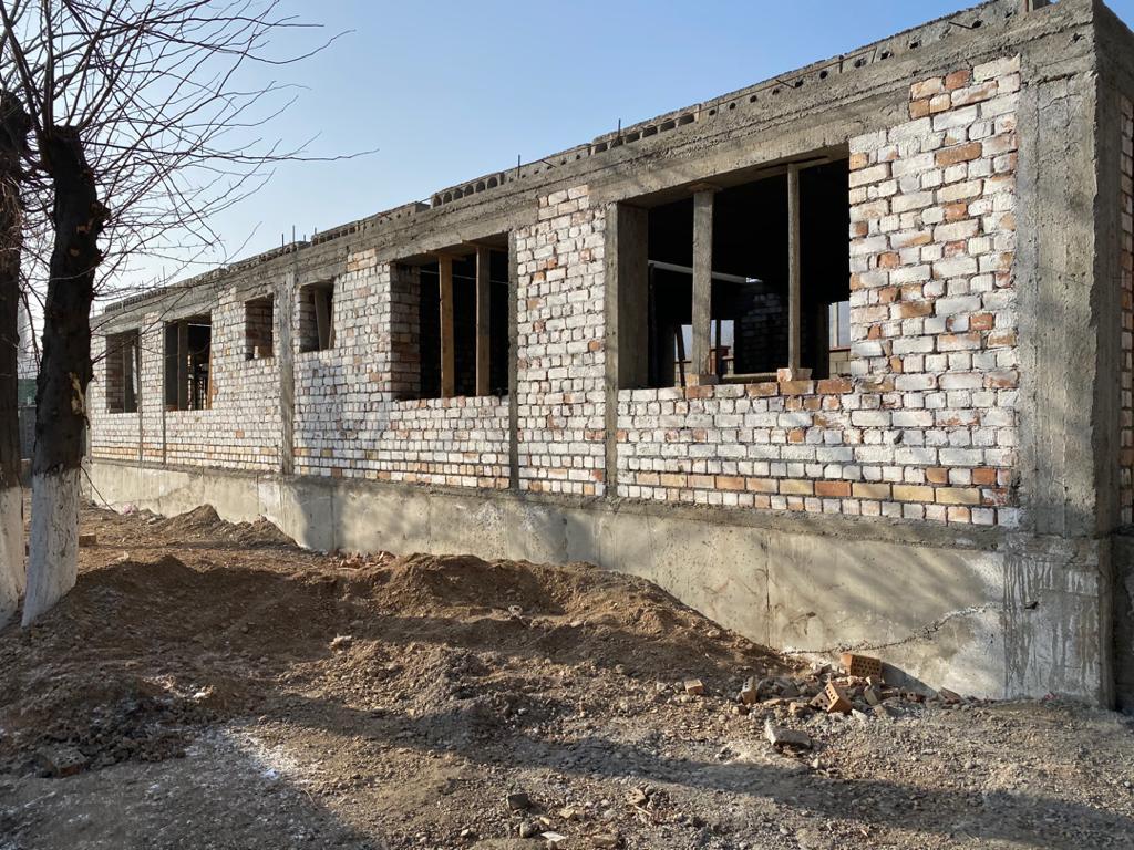 Строительство Дома юстиции в городе Таш-Кумыр Джалал-Абадской области