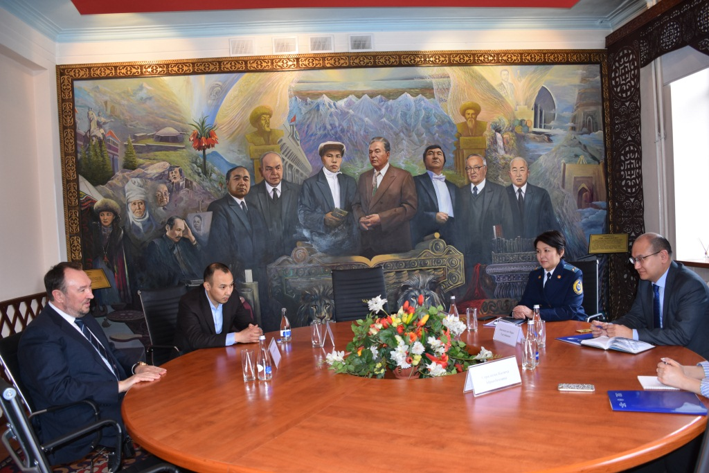 Встреча министра юстиции М. Джаманкулова с представителями Программы
