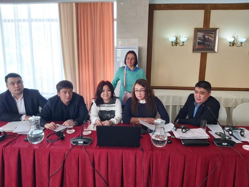 Рабочее заседание по подготовке НДО