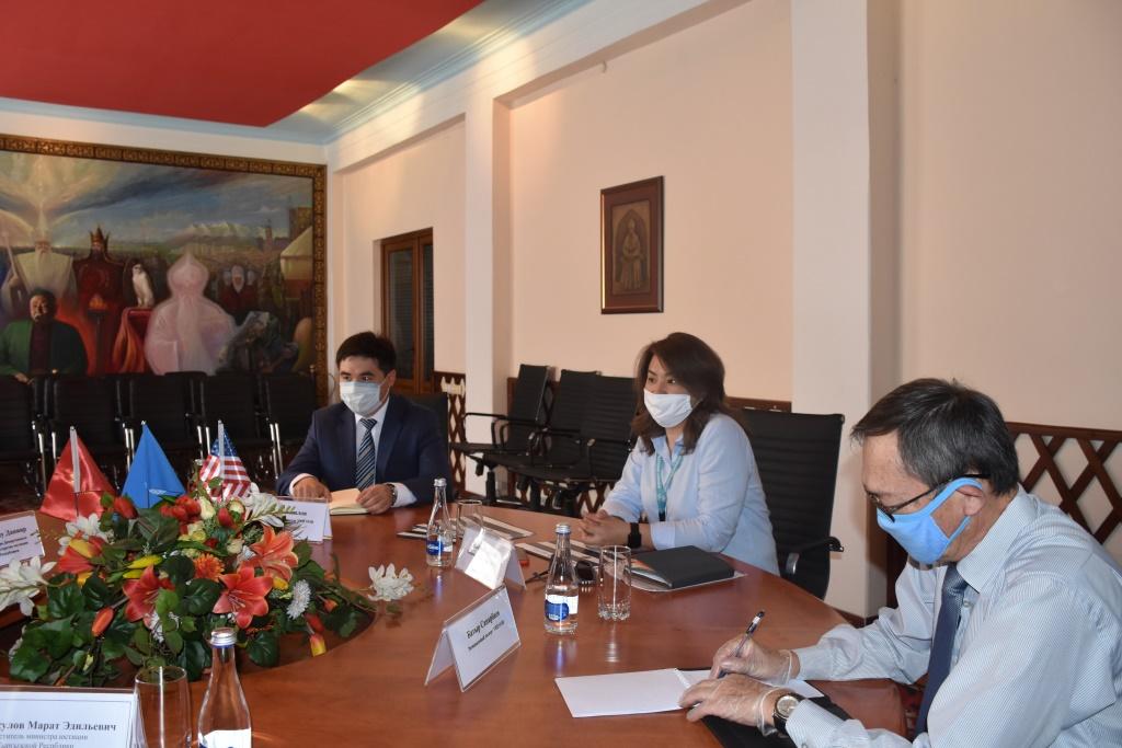 Министерство юстиции КР и УНП ООН усиливают сотрудничество, направленное на предупреждение угроз распространения экстремистской идеологии