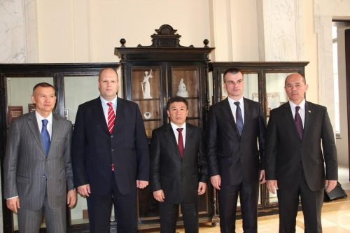 19-е заседание Совета министров юстиции государств-членов ЕврАзЭС (г.Санкт-Петербург, РФ)