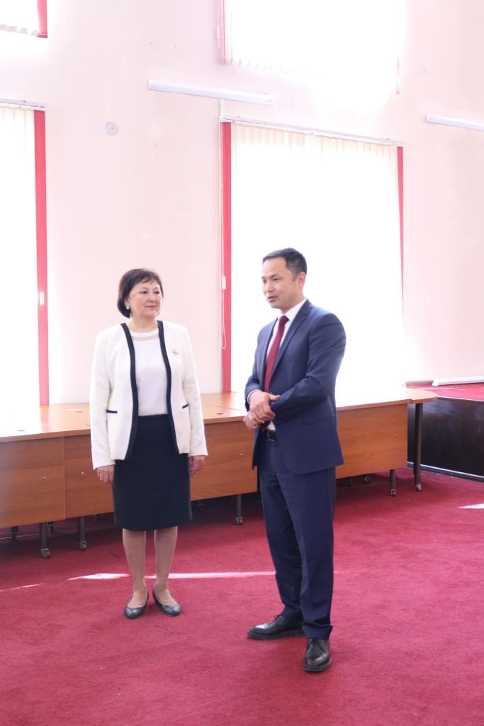 Вручение сертификатов Кыргызстест